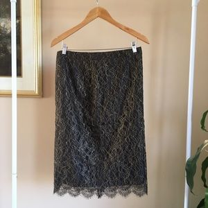 Lace Skirt from Banana Republic